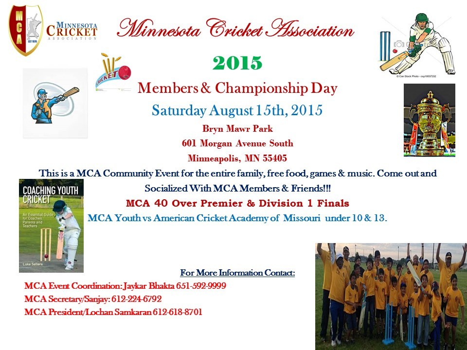 Members & Championship Day