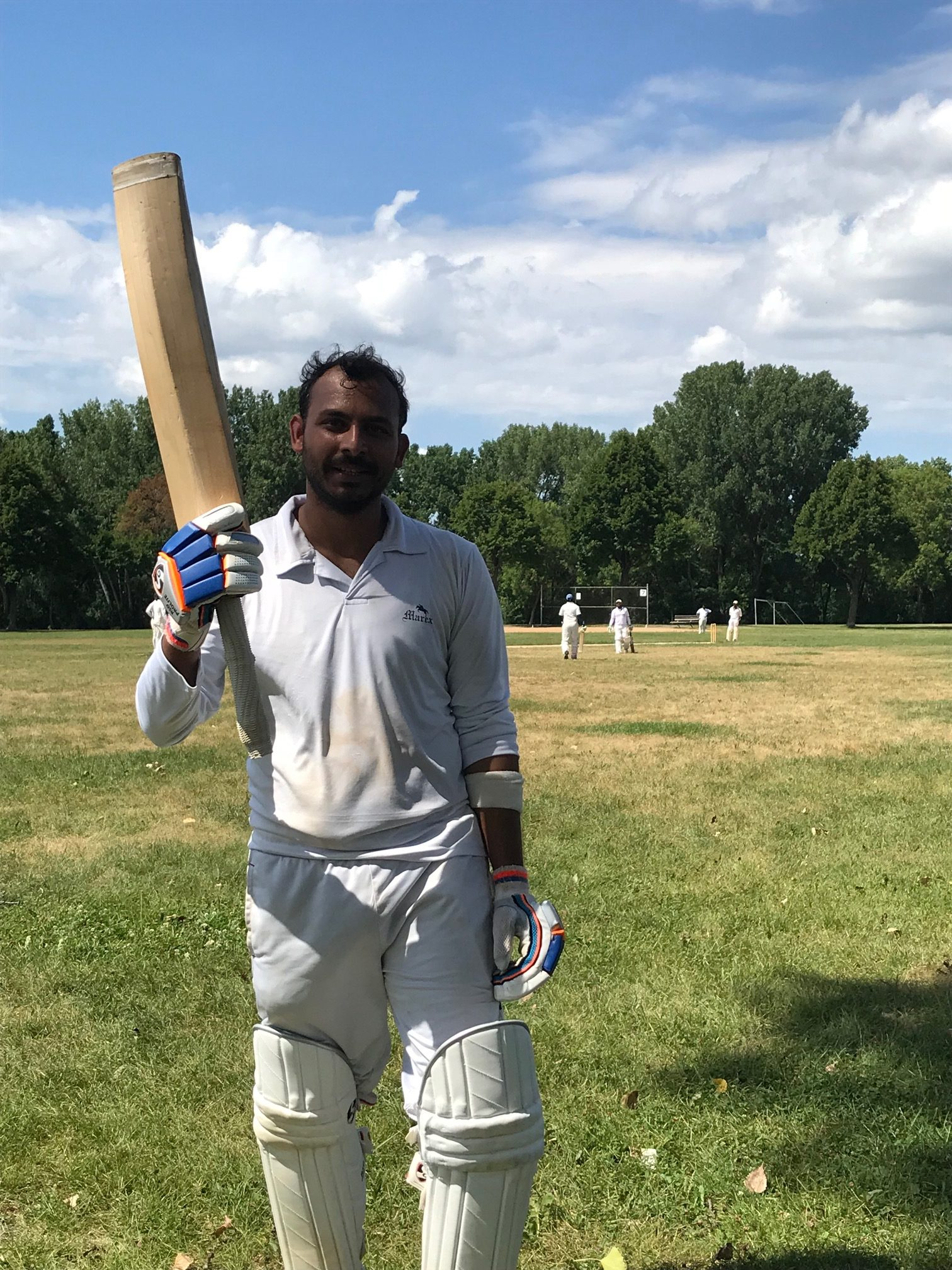 Animesh from Northstars strikes a scintillating century