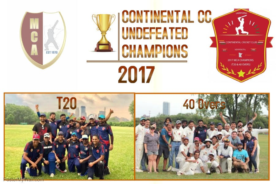 Continental CC — 2017 T20/40 Overs Champions