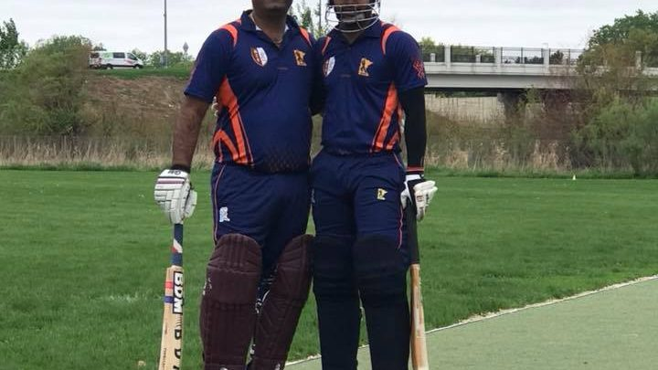 Double Hundred(200+) run opening stand by Raj Bikya and Naveen Bethi of GMCC