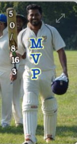 Chamreera's all round performance! 50 runs not out & 3 wickets for 16 runs!