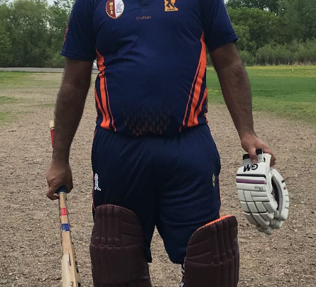 Naveen's 76 runs in 69 balls!