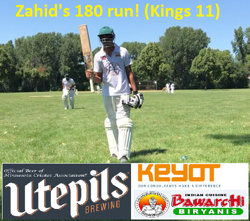 Zahid's Magnificent 180 run inning!