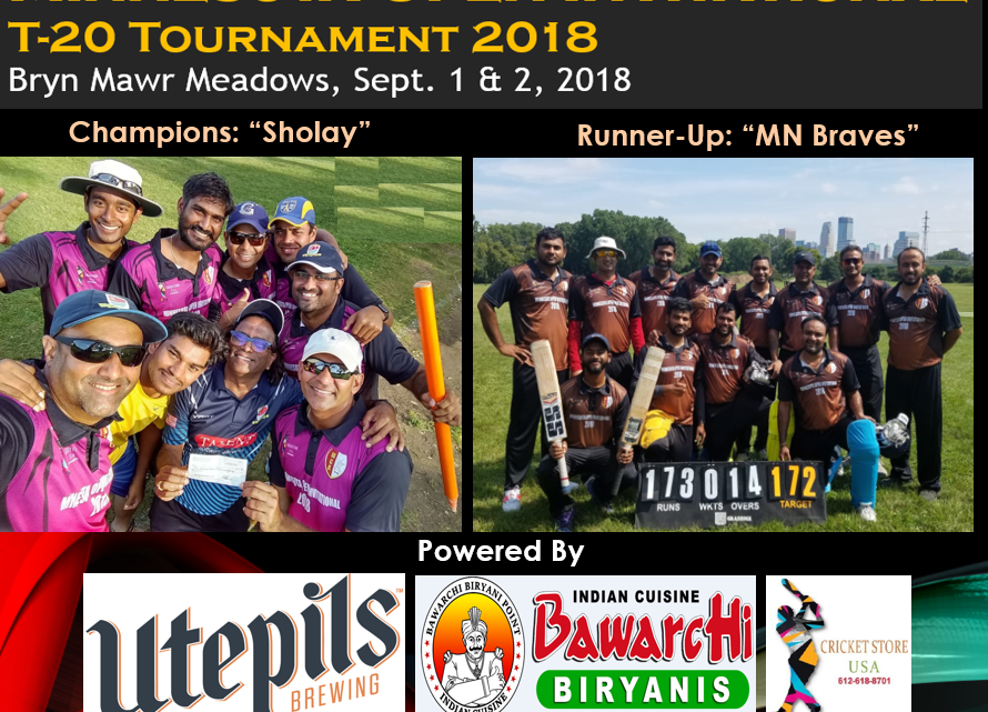2018 MCA Open Invitational T-20 Tournament – Finalists
