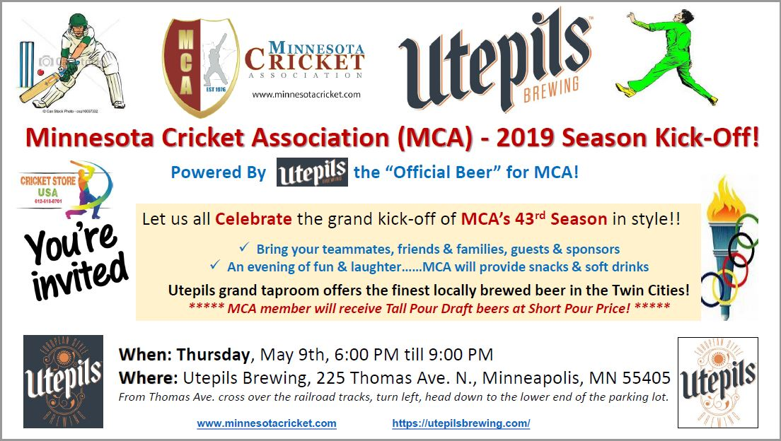 MCA – 2019 Season Kickoff
