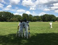Last wicket partnership (62) turned tables for Rising stars