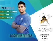 Roshitha Perera – 50* against Blazers
