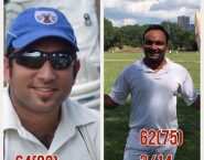 Vijay's heroics and Gagan's steady innings leads Rising Stars to third consecutive win.