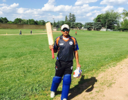 Rajeen Nikumbh 61 of 49 balls against Strykers Reds