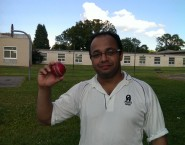 Vivek Dutt of Chargers took 5/10 against UWCC